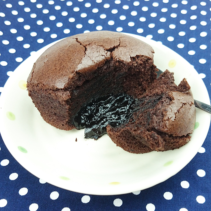 【芬饗手工烘焙】★岩漿巧克力杯子蛋糕★