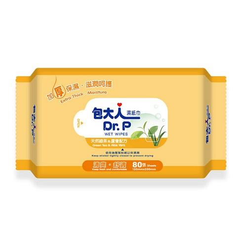 永大醫療~包大人加厚型濕巾 80抽x24包/箱 特惠價1080元