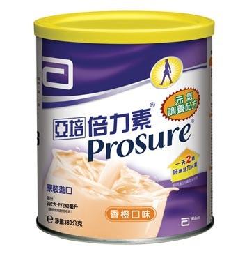 永大醫療~亞培倍力素粉狀調養配方380g 每罐特惠價935元