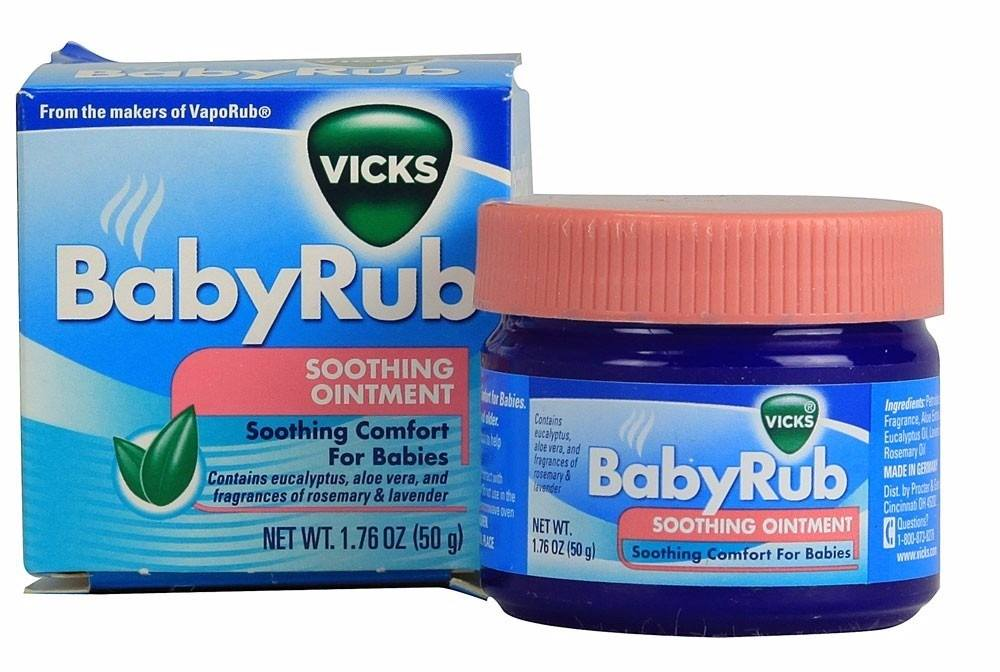 《★德國VICKS 》BabyRub  美國代購 溫媽媽