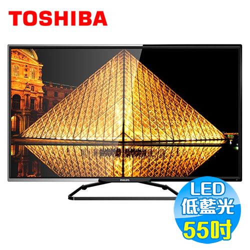 飛利浦 Philips 55吋淨藍光FHDLED液晶電視 55PFH5280