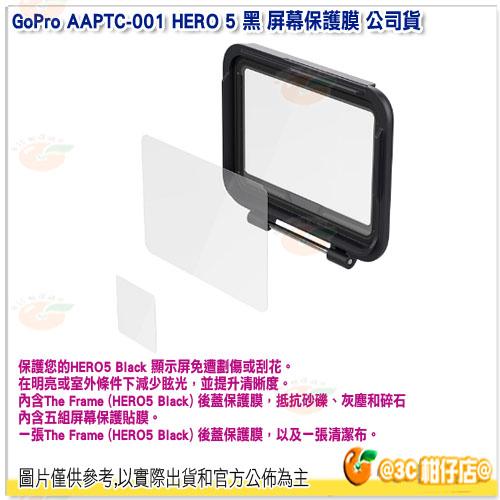 GoPro AAPTC-001 HERO 5 黑 屏幕保護膜 公司貨 保護膜 Hero5 Black
