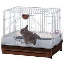 日本 MARUKAN  寵物兔防噴尿套房組 防噴尿兔籠  MR-309 顏色隨機