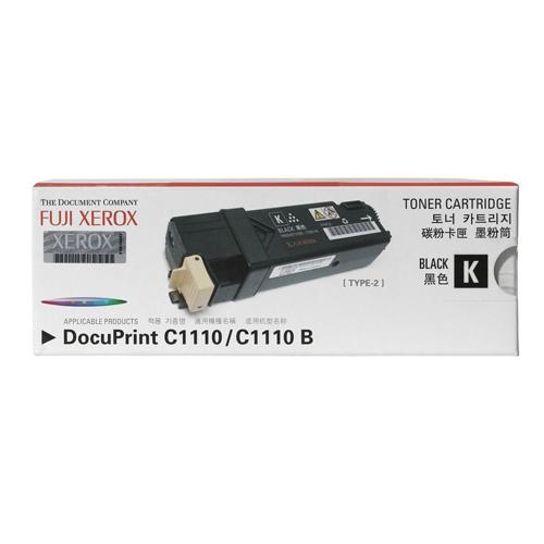 Fuji Xerox 富士全錄 原廠黑色碳粉匣 CT201114 適用 DocuPrint C1110(B) 雷射印表機