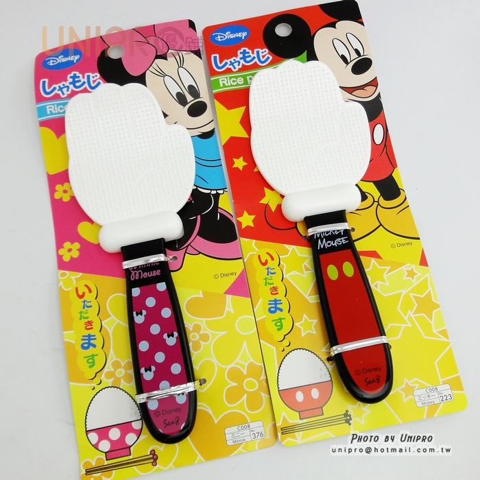 【UNIPRO】日貨 迪士尼正版 米奇 米妮 手掌造型小飯匙 Micky Minnie