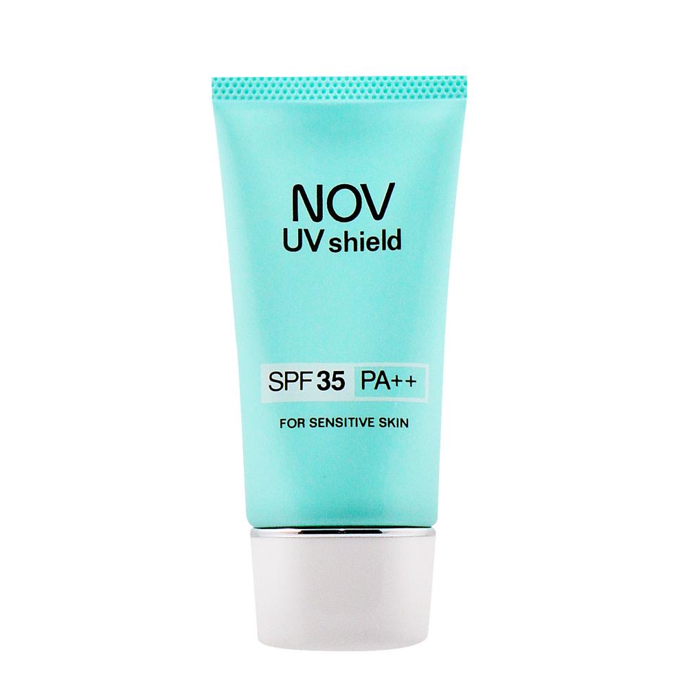 NOV娜芙防曬隔離霜 SPF35 PA++30g 批號已經割除 PG美妝 公司貨中文標
