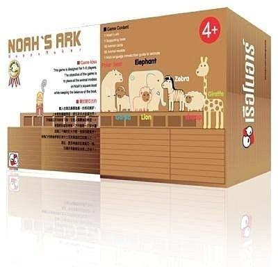 KIDDY KIDDO 諾亞方舟 班恩傑尼 親子桌遊 最有趣的全家遊戲 公司貨中文標 PG美妝