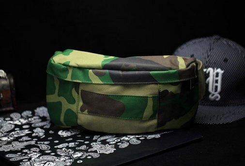 【JP.美日韓】商務 電腦胸包 郵差包 側背包 腰包 小包 迷彩包