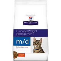 Hill's希爾思處方飼料│貓用m/d 貓MD 血糖/體重管理 糖尿病問題 4LB/4磅 (似皇家處方DS46)