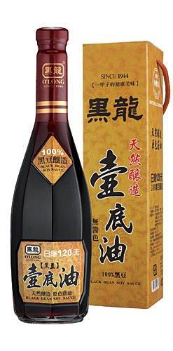 三鷹食品 黑龍壺底油 (油清)