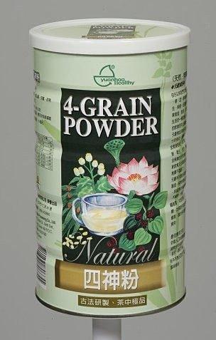 元豪 四神粉 600g/罐(本產品特別添加三益菌、綜合酵素、高溶解鈣)