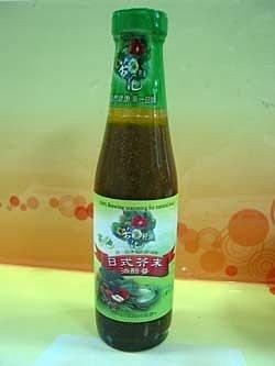 阿邦小舖 金椿茶油 日式芥末油醋醬240ml