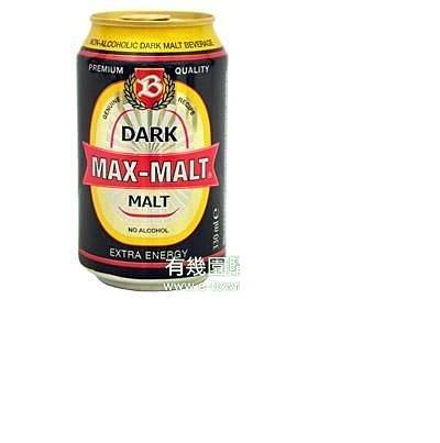 有機園-MAX-MALT醇麥卡濃黑麥汁24瓶入/箱