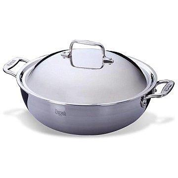 Paruah帕路亞 七層鋼原味萬用鍋(小) 加深鍋型可煮火鍋.27cm(SK-2742)