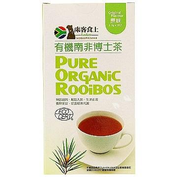 來客食上 有機南非博士茶 原味 2.5g*20入
