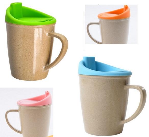【淘氣寶寶】美國 Husk's ware 兒童水杯【稻殼纖維材質,安全實用 】【保證公司貨●品質有保證】