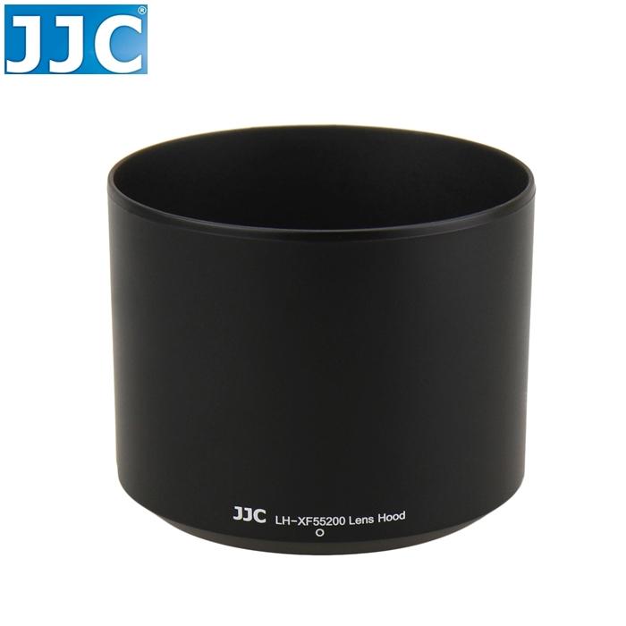 又敗家@JJC富士Fujifilm副廠遮光罩適XF 55-200mm F/3.5-4.8 R XF55200遮光罩XF55200太陽罩圓筒型遮罩圓柱形遮陽罩,替代Fujfilm原廠遮光罩原廠Fujfilm遮光罩LM OIS lens hood F3.5-4.8 1:3.5-4.8