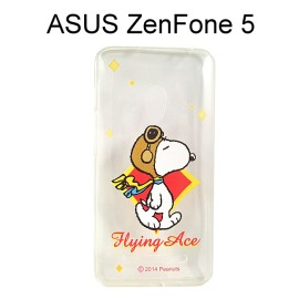 SNOOPY 史努比透明軟殼 [N02] ASUS ZenFone 5【台灣正版授權】