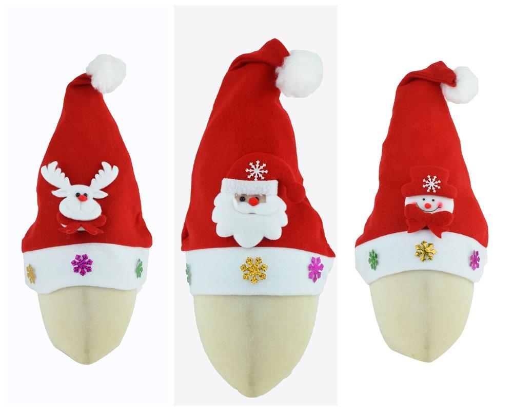X射線【X294105】拉絨布公仔聖誕帽,聖誕節/派對用品/舞會道具/cosplay/角色扮演/麋鹿/表演/情趣/園遊會/校慶