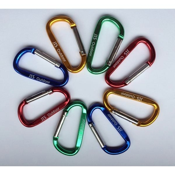 D型扣環 7公分 不挑色 / 掛勾 / 鑰匙扣環 / AJ039