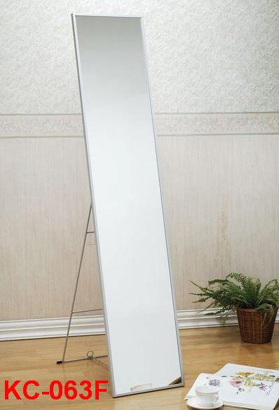《 佳家生活館 》冰天使 12英吋鋁框穿衣鏡/全身鏡/書桌椅/茶几/衣架/電腦桌椅/書櫃/公文櫃/收納箱/鞋櫃/化妝鏡/立鏡 KC-063F