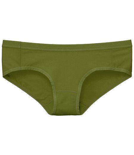 【PH5.5酸鹼平衡褲】Pure5.5-女三角褲-芥末綠【3件$999】