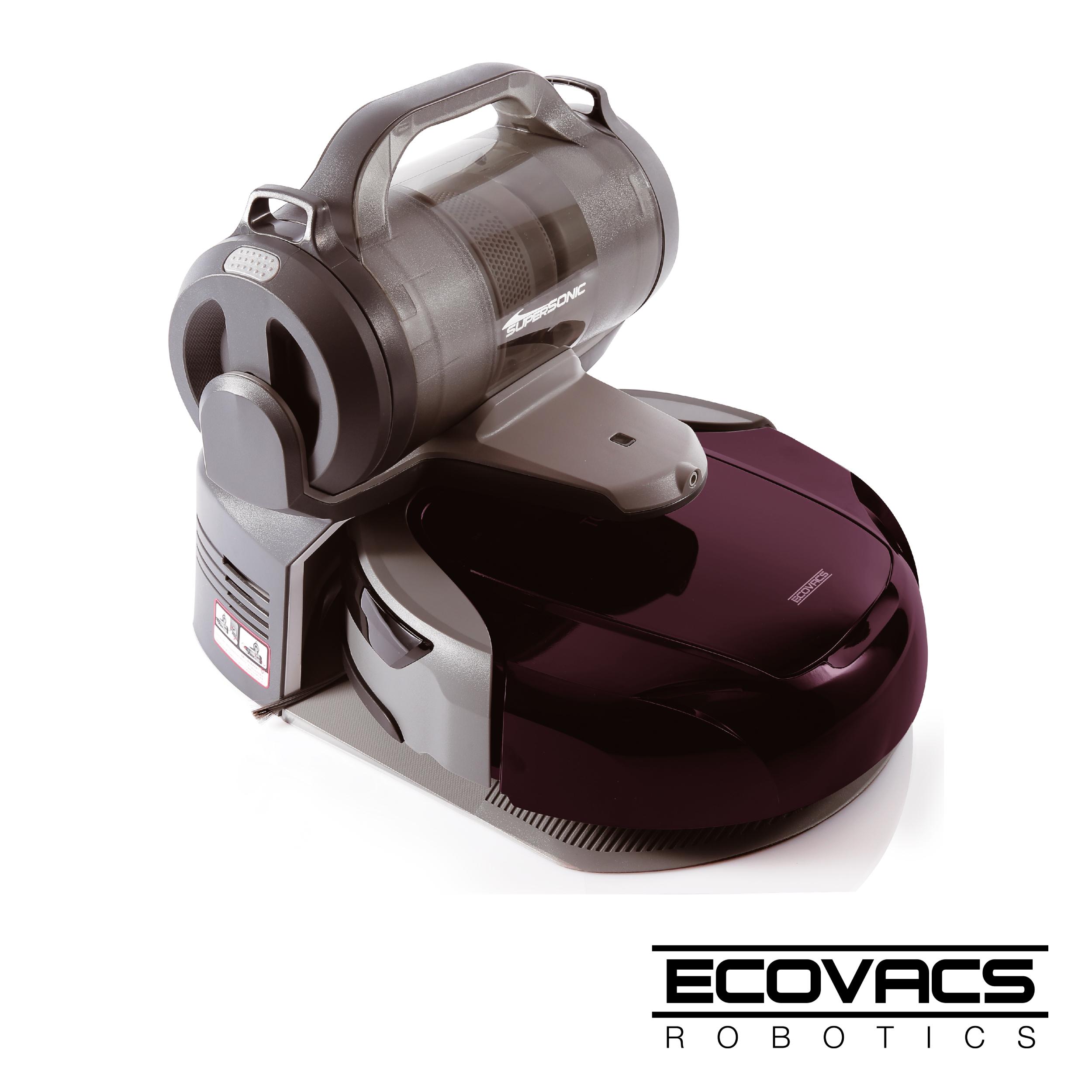 Ecovacs智慧變形吸塵機器人-D79(福利品)