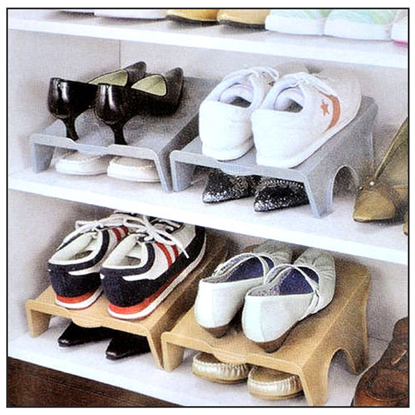 BO雜貨【SV6320】簡易收納鞋架 鞋子收納 一體式鞋架 鞋盒 節省雙倍空間 球鞋 高跟鞋平底鞋