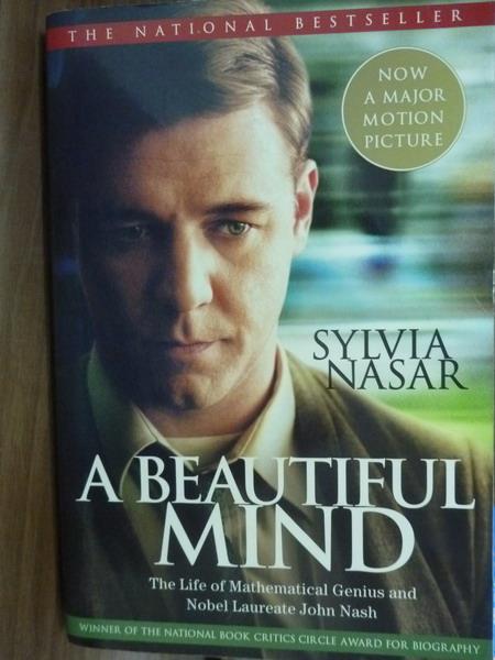 【書寶二手書T2/原文書_QGK】A Beautiful Mind_Sylvia Nasar