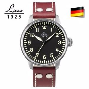 德國原裝進口 Laco 朗坤 861688 飛行員系列德國手錶 男士自動機械錶