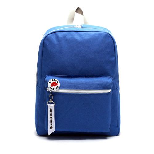 後背包 韓國品牌 AFRICA RIKIKO 馬卡龍色後背包 NO.118파랑(Blue) - 包包阿者西