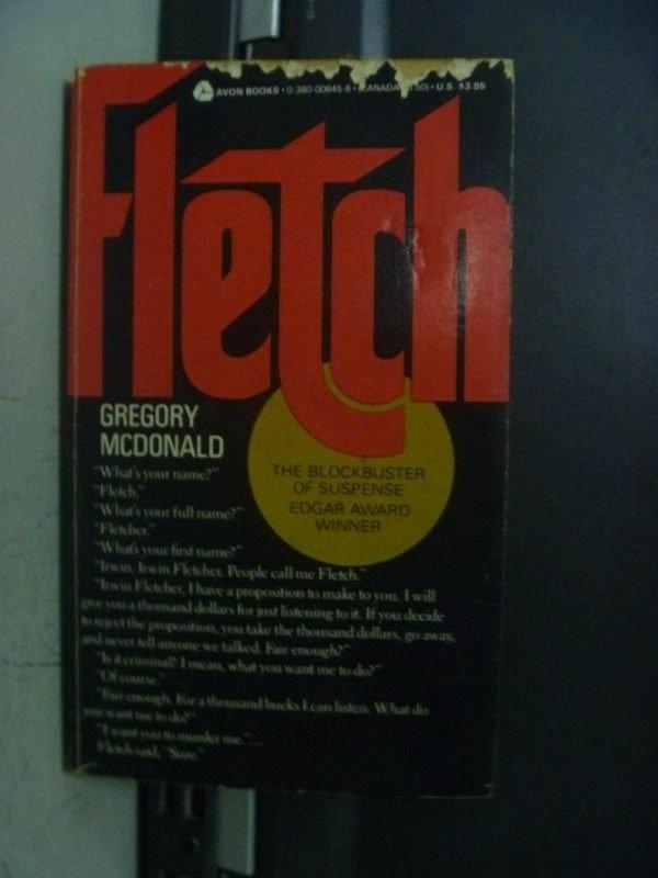 【書寶二手書T8/原文小說_OFX】Fletch_Gregory Mcdonald