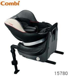 日本【Combi 康貝】Neseruturn ISOFIX 旋轉式汽座(汽車安全座椅) - 時尚黑