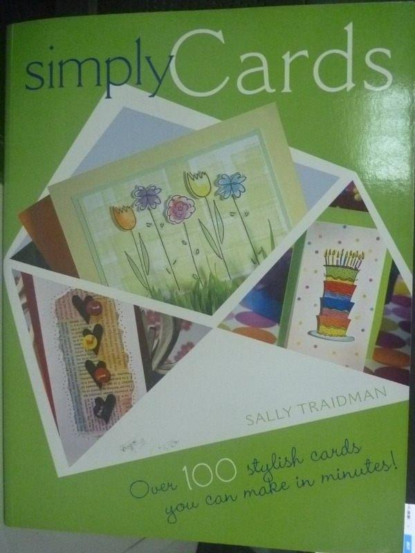 【書寶二手書T2/美工_PGR】Simply Cards_Traidman, Sally
