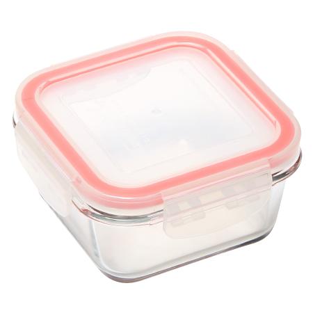 耐熱玻璃保鮮盒 250ml 正方形