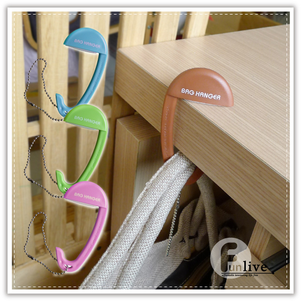 【aife life】便攜式桌面包包掛鉤/包包掛勾/掛鈎/椅背掛勾/多用途掛勾/鑰匙圈/吊飾