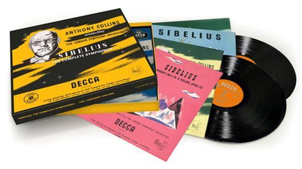 西貝流士150週年:交響曲全集(流水編號 限量版)(SIBELIUS 150: The Complete Symphonies under Anthony Collins)【6LPs】