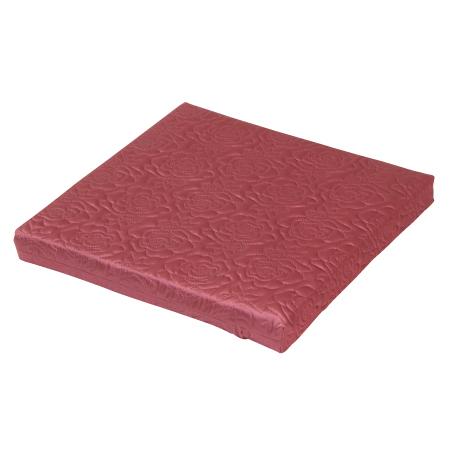 50x50記憶厚座墊 柔絲 紅
