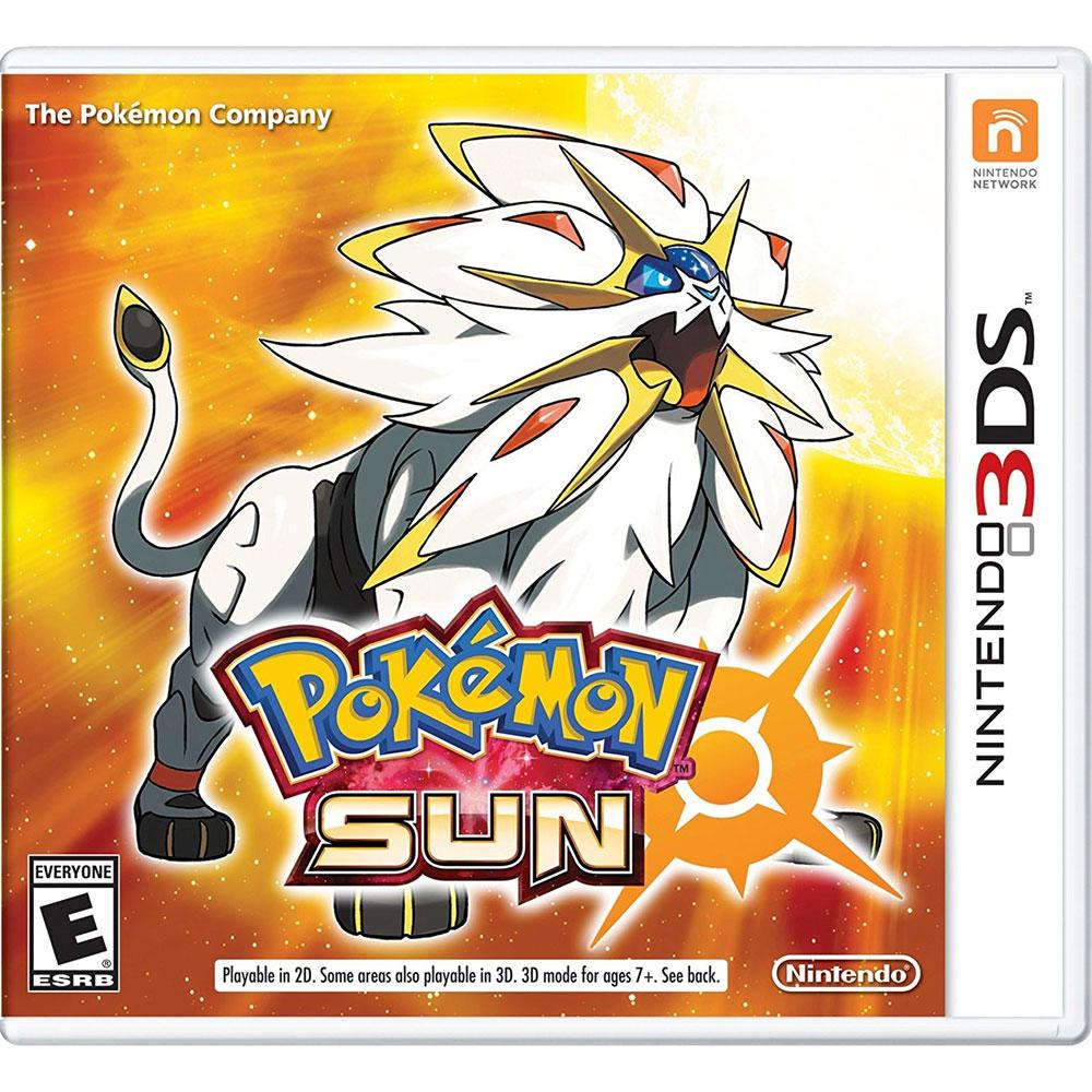 (現貨全新) 3DS 精靈寶可夢 太陽 美版 神奇寶貝Pokemon Sun 限美規機使用