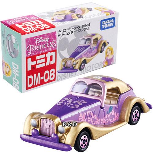 《 TOMICA 》夢幻小汽車 DM - 08 魔髮奇緣