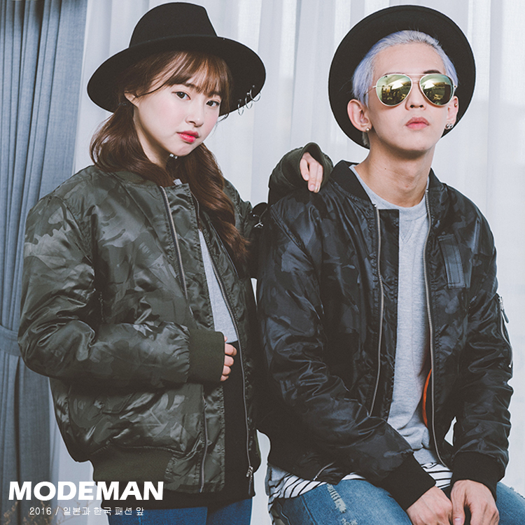 【MODE MAN】MA-1口袋迷彩鋪棉空軍飛行外套 情侶款『現貨+預購』