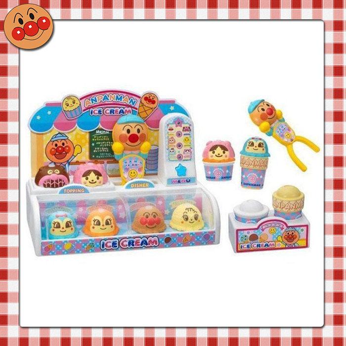 大田倉 日本進口正版 ANPANMAN 麵包超人 幼兒 冰淇淋店 伴扮家家酒組合玩具 甜點玩具 179984