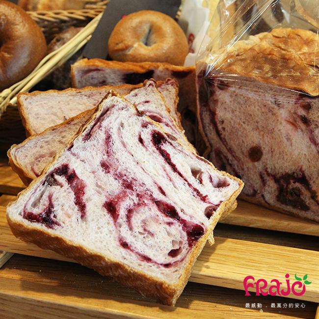 Frajo歐式健康麵包-正莓吐司(1條/10入)