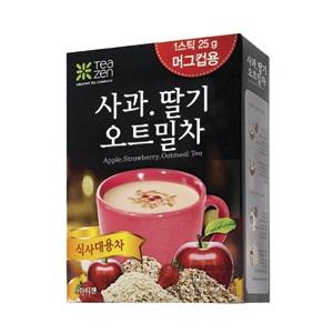 TeaZen茶禪 蘋果草莓燕麥茶 Apple Strawberry Oatmeal Tea