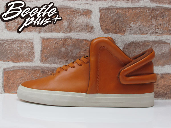 BEETLE PLUS SUPRA FALCON CARAMEL 咖啡 土黃色 皮革 滑板鞋 S78004 US10.5