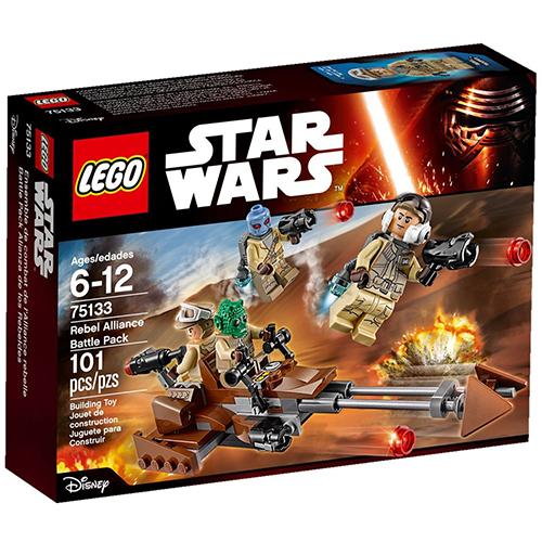樂高積木LEGO《 LT75133 》2016 年 STAR WARS 星際大戰系列 - Rebel Alliance Battle Pack