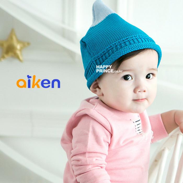 【艾肯居家生活館】兒童帽 嬰兒帽 兒童雙色毛帽 針織 保暖 毛帽 禮物 生日禮物 禮品  (藍色下單區)  -J1910-003