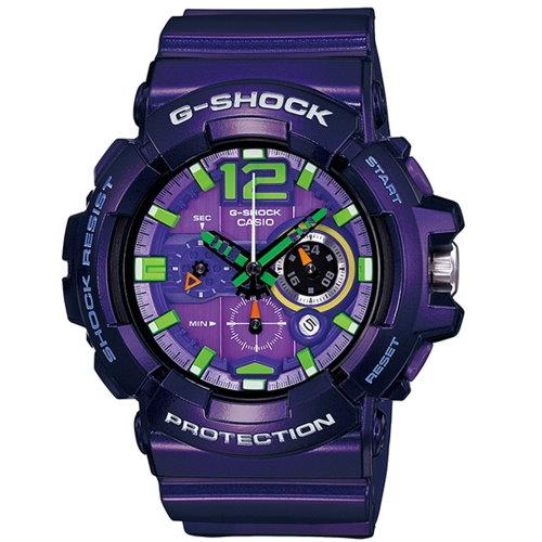 CASIO/G-SHOCK/流行主義運動錶/紫/GAC-110-6ADR