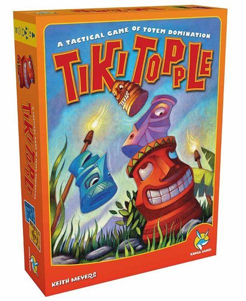 TIKI TOPPLE 推倒提基 桌上遊戲【策略遊戲】 (音樂影片購)