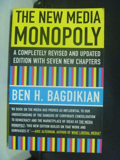 【書寶二手書T5/大學藝術傳播_GGJ】The new media monopoly_Bagdikian, Ben H.